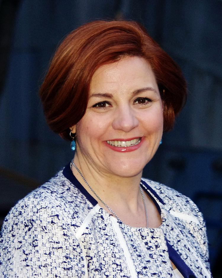 New York City Council Speaker, and mayoral candidate, Christine Quinn.