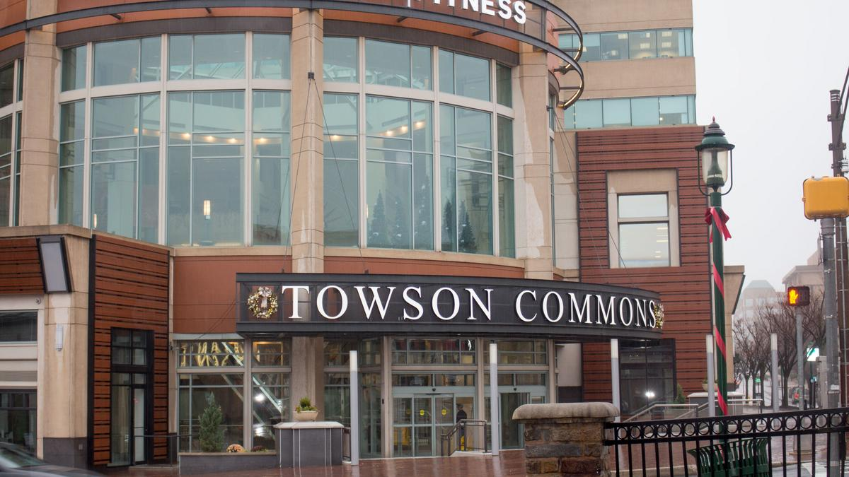 towson commons signs first tenant under new owners baltimore