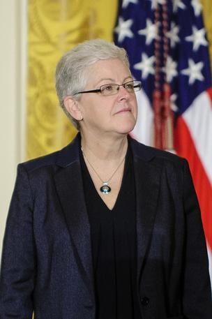 Gina McCarthy focuses on climate change in her first speech as EPA chief (7/30/13)