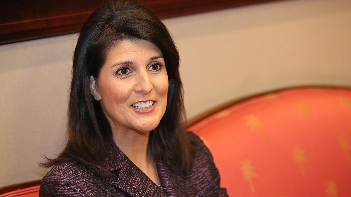 S C Gov Nikki Haley On Winning In Business Charlotte