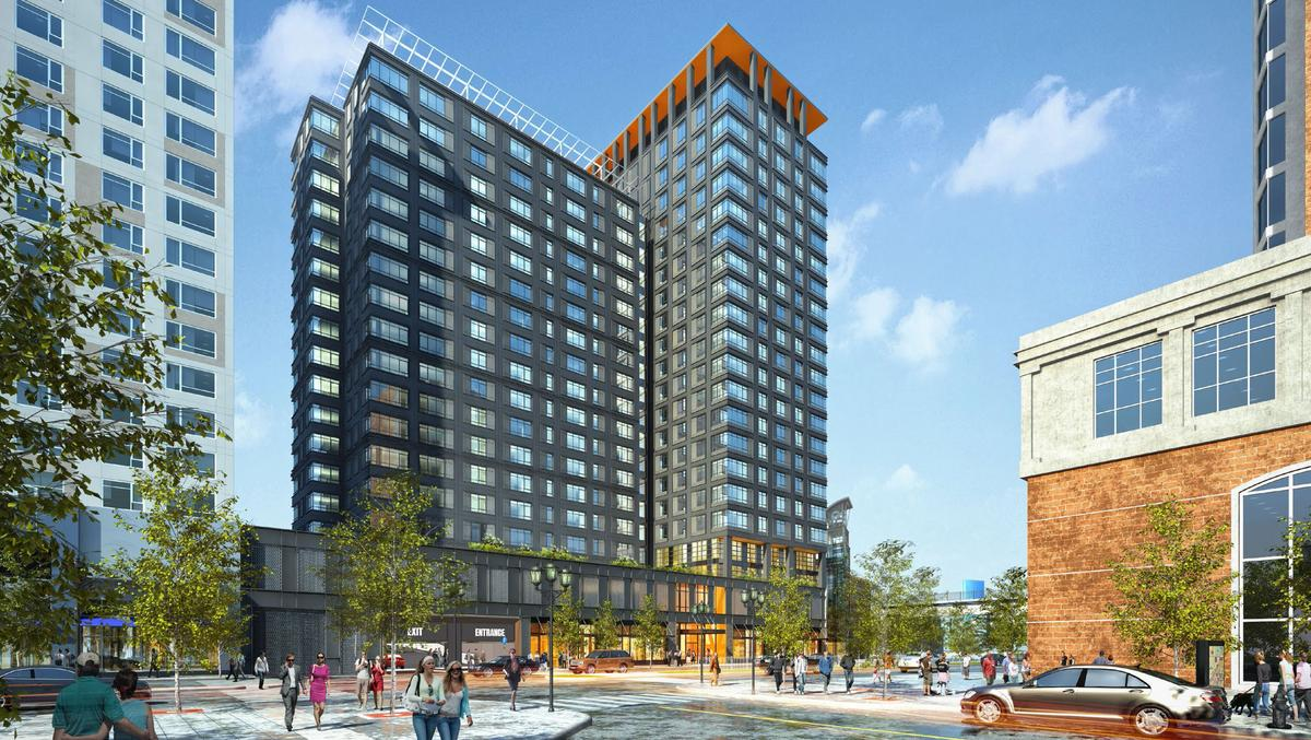 Drew Co Shifting Gears From Retail To Residential Tower