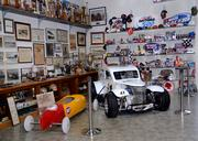The archives comprise decades of memorabilia, images, publications and even full-size race cars, both replicas and original models. This is only a small piece of the collection.