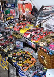 The archives are in no short supply of licensed NASCAR merchandise. This is a model car collector's dream come true.