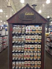The Cabela's spice rack.