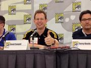 Red Giant Entertainment Inc. COO David Campiti at the San Diego Comic Con panel
