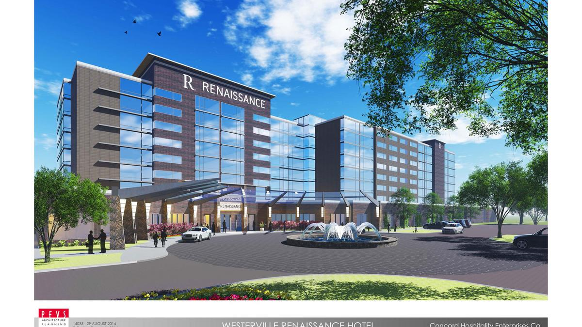 Continental Concord Break Ground On Renaissance Hotel In Westerville Marriott And Residence Inn Near Osu Columbus Business First