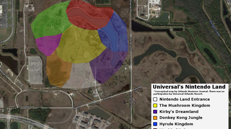 What Universal Orlando S Nintendo Land Could Be Like Orlando