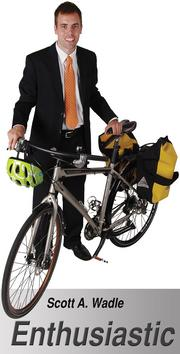 """This is the bicycle that I use to commute back and forth to work. It is fun, reliable, low-maintenance, and slightly speedy. The yellow pannier bags are waterproof – allowing for trips in all kinds of weather and better visibility."" - Scott A. Wadle, Senior Planner, Wichita-Sedgwick County  Metropolitan Area Planning Department"