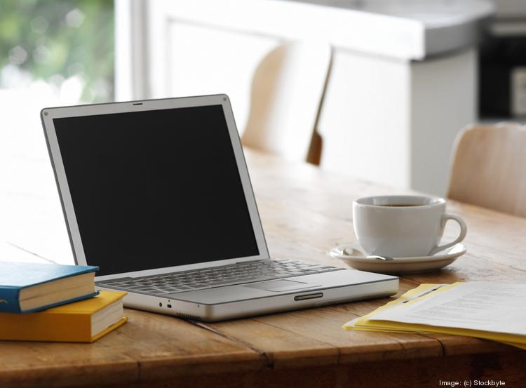 Study says bank employees feel less distracted and more productive when they work from home.