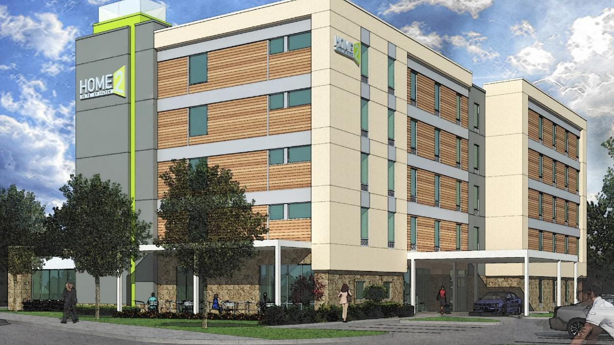 Home2 suites hotel proposed near northlake mall atlanta for Home two suites