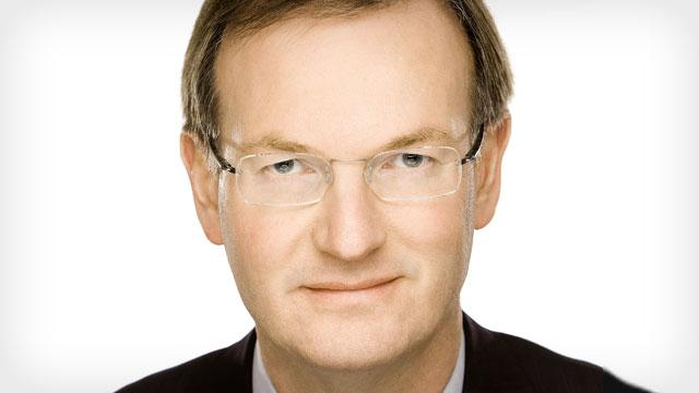 David Goulden, president and chief operating officer at EMC, appears at a Chruschill Club event on August 8.