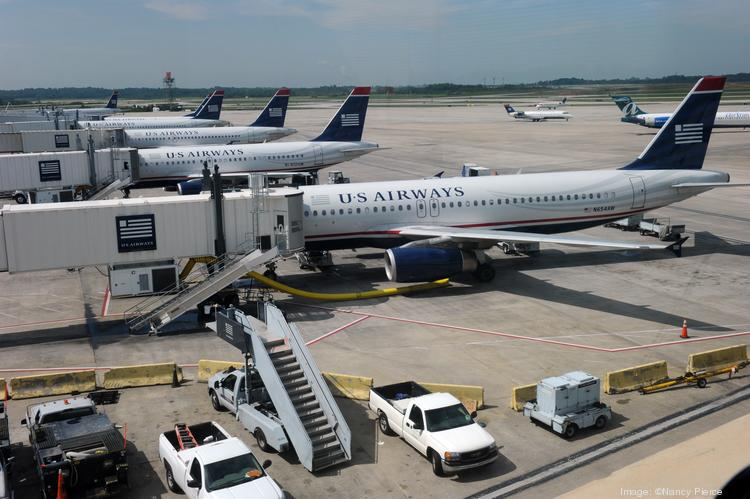 Charlotte Douglas International Airport is home to US Airways' largest hub. If the airline's merger with American Airlines is completed, CLT would be the second-largest hub for the combined carrier.