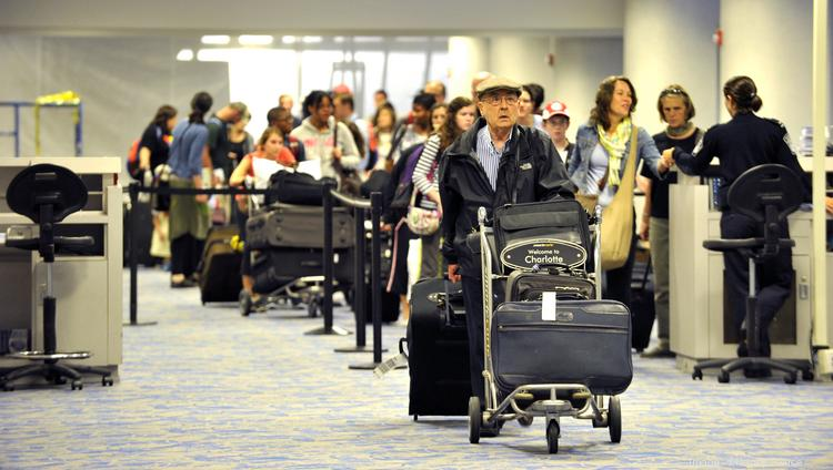 International traffic at CLT totaled 1.2 million passengers from January through May, a jump of 5.1 percent from the same period in 2013.