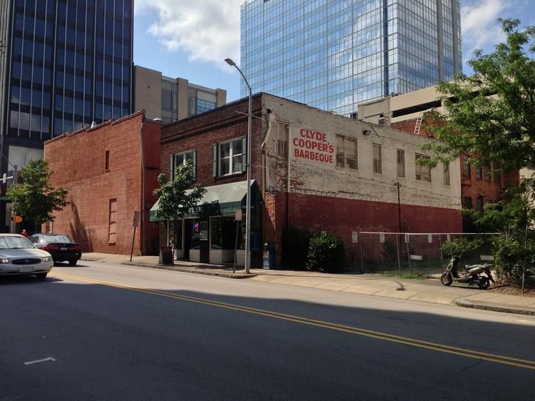 Clyde Cooper's barbecue restaurant is looking to make a new home for itself in downtown Raleigh.