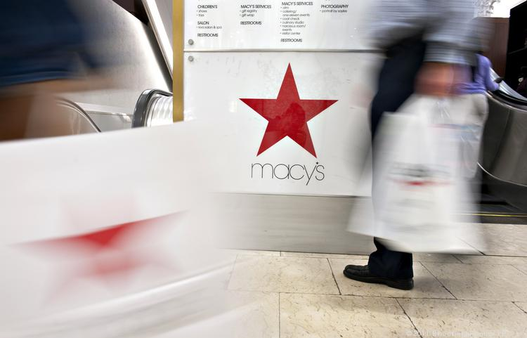 Macy's Inc.'s stock fell Wednesday after it reported a weaker-than-expected second quarter.