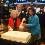 Aflac celebrates 60th anniversary; Duck rings NYSE bell