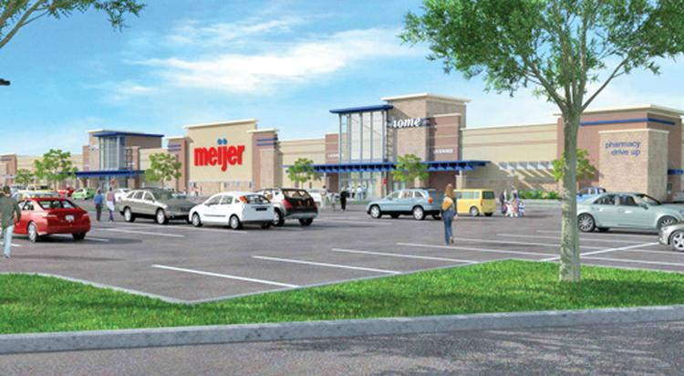 Drexel Town Square is among several Meijer store sites in the retailer's push to enter the Milwaukee-area market.