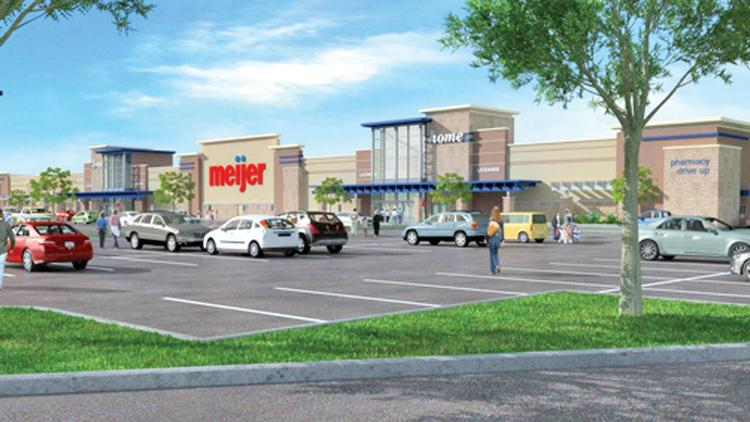 Construction of the first Milwaukee-area Meijer stores is underway.