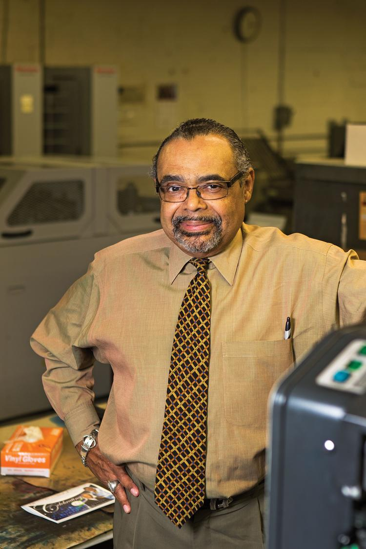 Albert Maddox Jr. leads Time Printers Inc., a printing company that has been in business since 1954.