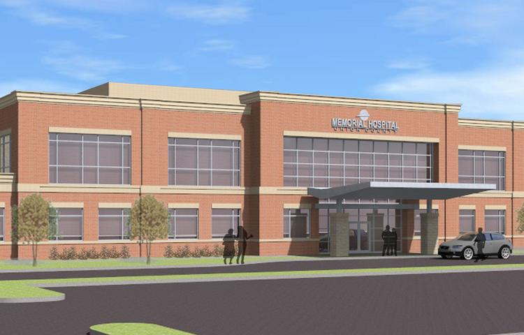 Memorial Hospital of Union County is moving ahead with a $7.5 million, 35,000-square-foot medical office building.