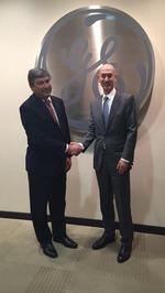 NBA commissioner <strong>Silver</strong> holds first meeting with GE Healthcare in new research partnership