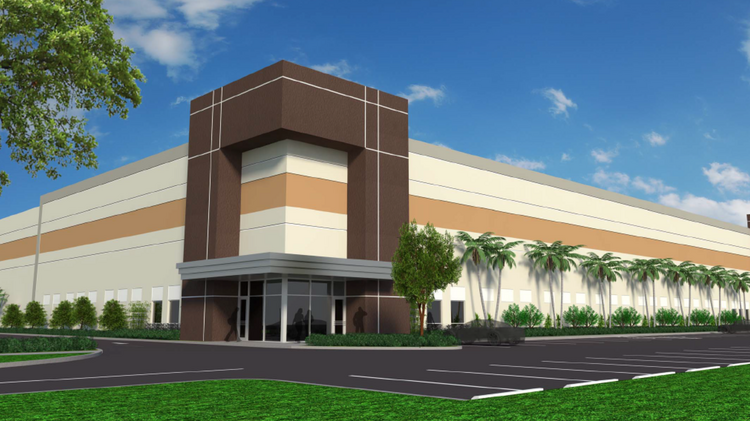 Bergeron Properties is building a distribution center at 19700 Stirling Road in Pembroke Pines.