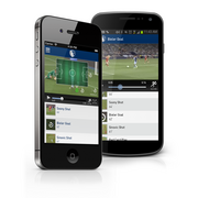 Sporting Innovation LP has been showing off its shiny new fan engagement app, Sporting Club Uphoria, which helps fans interact with each other and the brand while they're in the stadium.