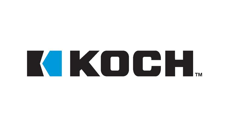Company provides secure data services in more than 60 for Koch industrie