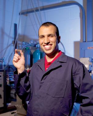 Fazel Yavari was the 2012 Lemelson-Rensselaer Student Prize winner.