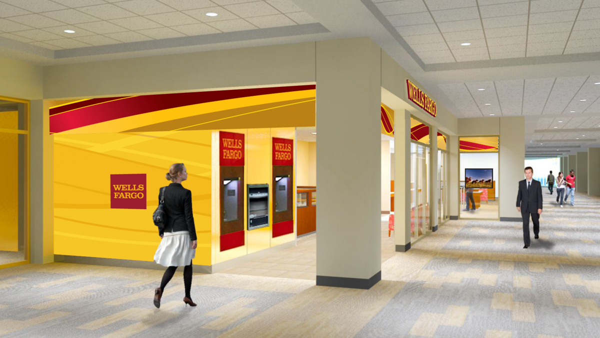 Wells Fargo Plans Hightech Skyway Branch In Towers Near US Bank - Us bank branch locations map