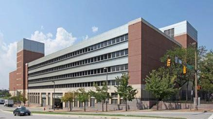 The 1.1 million-square-foot Metro West Social Security complex on North Greene Street in Baltimore.