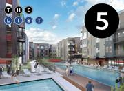 No. 5: Misora Square feet: 424,825 Type: Residential Owner: Federal Realty Investment Trust Address: Santana Row, 360 Hatton, 95128 Completion date: Dec. 2013