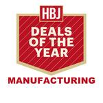 HBJ's 2015 Deals of the Year finalists: Manufacturing