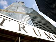 Among the properties in the Trump International Hotel collection is this one in Chicago, shown here under construction in 2008.
