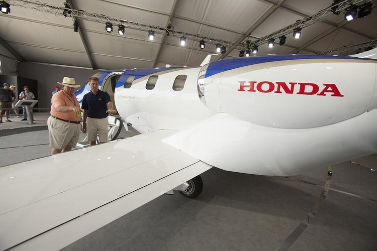 The Piedmont Triad Partnership has been awarded a $200,000 federal grant for an initiative to strengthen the region's aviation manufacturing sector, which includes companies like Honda Aircraft Co.