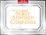 Fresh faces among Oregon's Most Admired Companies of 2015