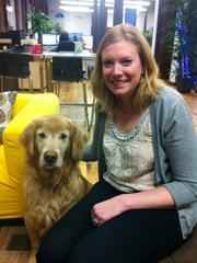Amanda and Griffin at Elevated Third Digital Agency.