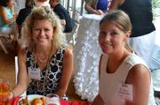 Natasha Stancill, left, and Pam Zandy, both from Monument Realty.