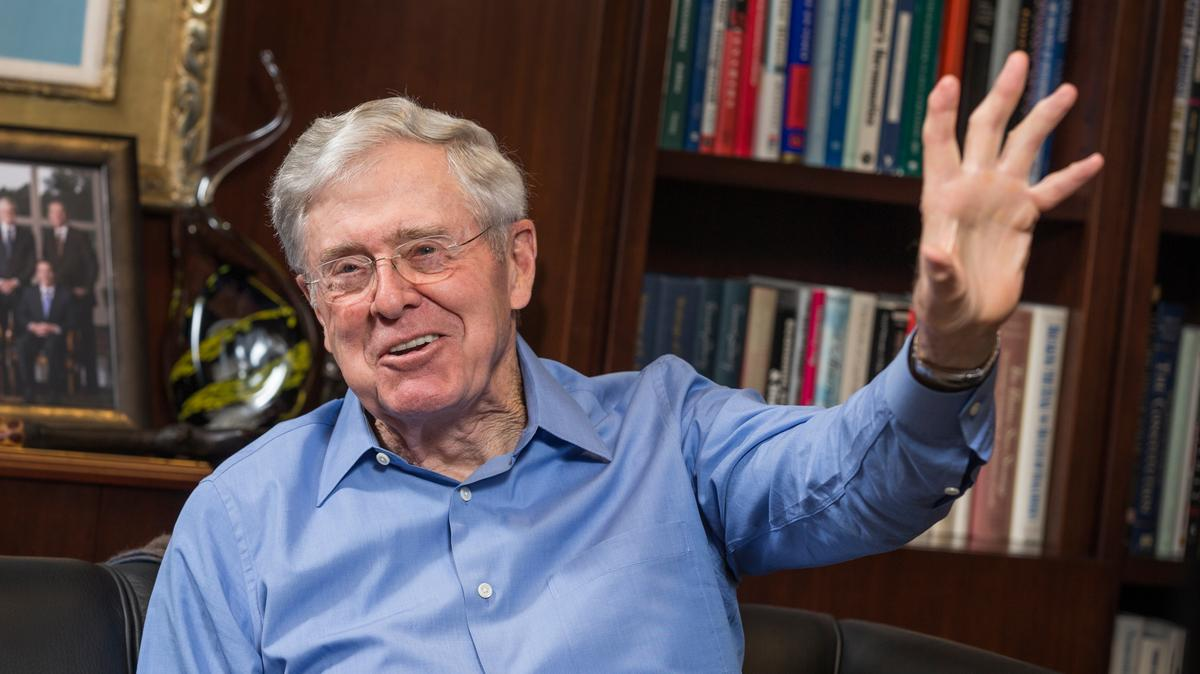 How charles koch challenges his innovators wichita for Koch industrie