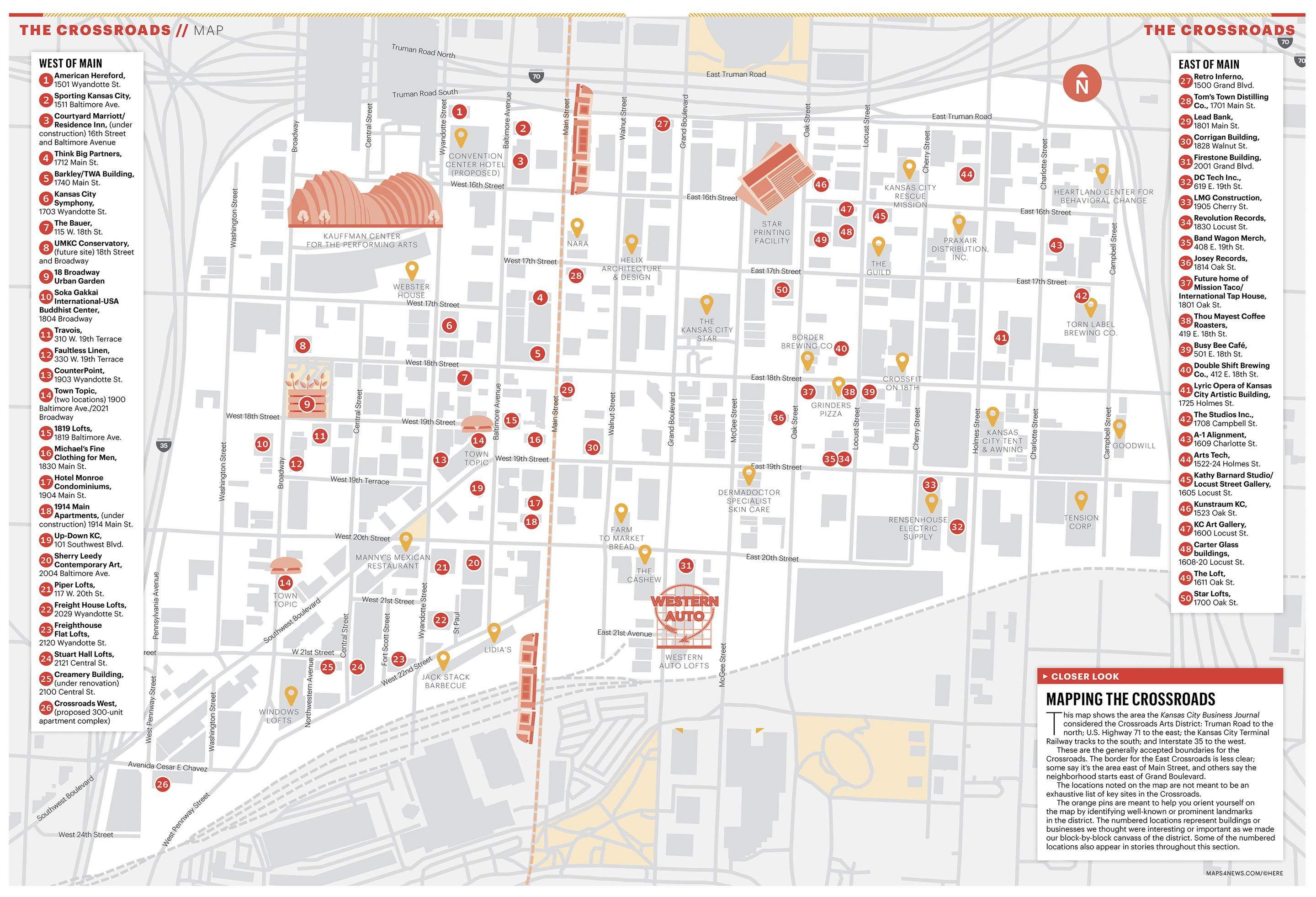 Crossroads Arts District: Mapping the neighborhood - Kansas City ...