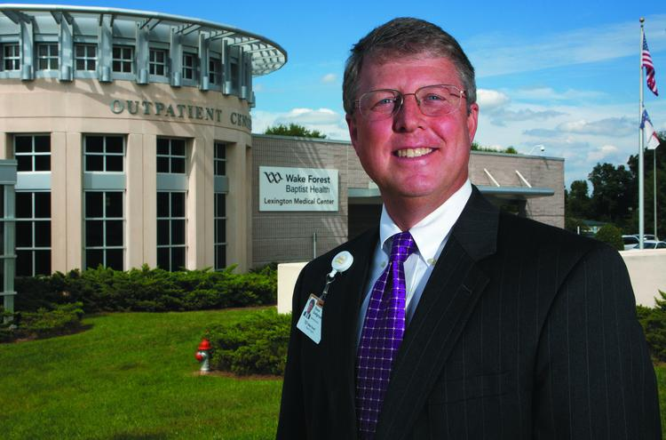 Steve Snelgrove is president of Lexington Medical Center.