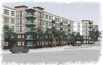 Construction on 295 units spread over two four-story buildings called The Winthrop is underway in Towson. Delivery is slated for spring 2014.