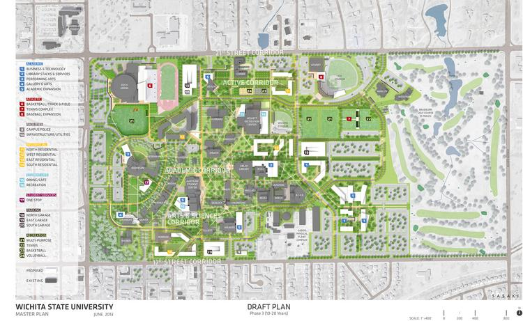 Master Plan Offers Glimpse Into Wichita State Campus