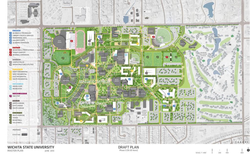 Master Plan Offers Glimpse Into Wichita State Campus Future