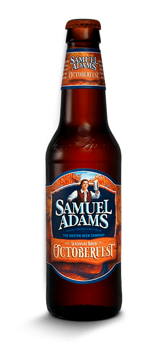 Bottles of the Samuel Adams Octoberfest started showing up in stores in July.