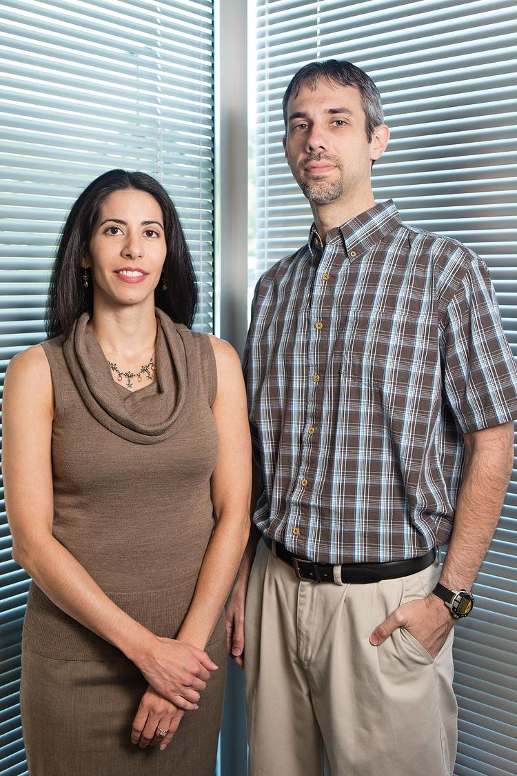 Zuly Gonzalez and Beau Adkins are the sole employees of Light Point Security.