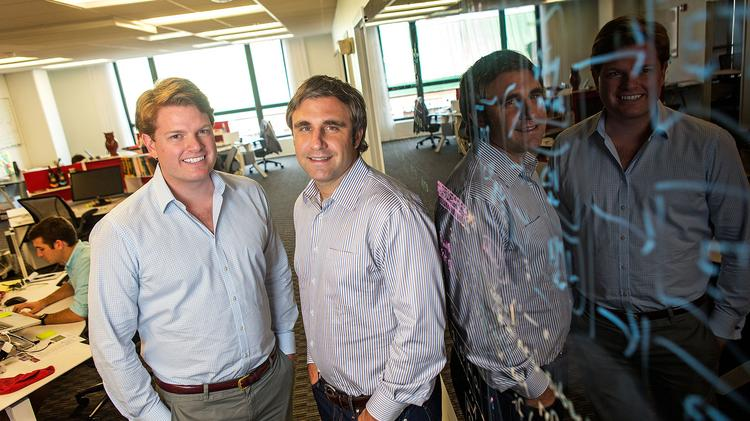 Renny McPherson, left, and Guy Filippelli lead RedOwl Analytics.