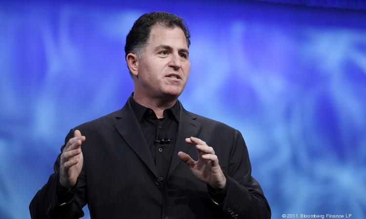 Michael Dell, chairman and chief executive officer of Dell Inc. Photographer: Tony Avelar/Bloomberg