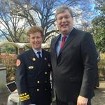 Strickland announces fire director, adds to communication staff