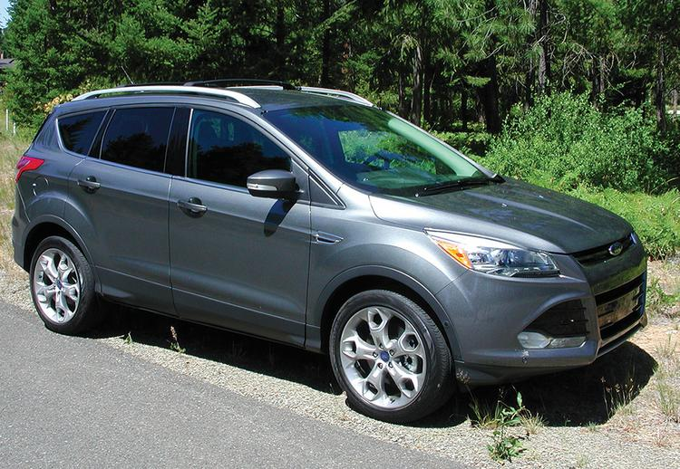 Sales of the Ford Escape continue to show double-digit gains.